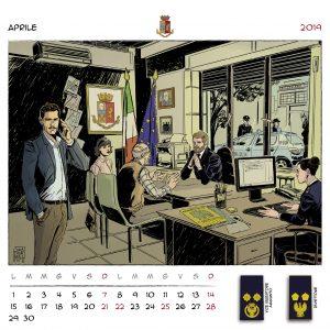 Calendario Polizia 2019 - (6)