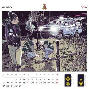 Calendario Polizia 2019 - (7)