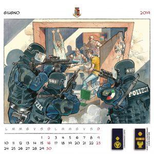 Calendario Polizia 2019 - (8)