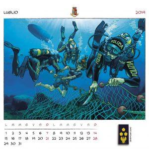 Calendario Polizia 2019 - (9)