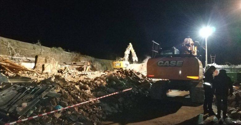 pol-loc-demolizione notturna