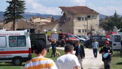 Onna, L'Aquila, 7 aprile 2009 - foto Alessio Argentieri