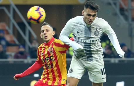 calcio Inter Benevento-2019 - (foto ANSA / MATTEO BAZZI)