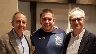 "Photo of Rugby – Olli, un ""parmigiano romano"""