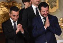 Di Maio-Salvini (foto web)