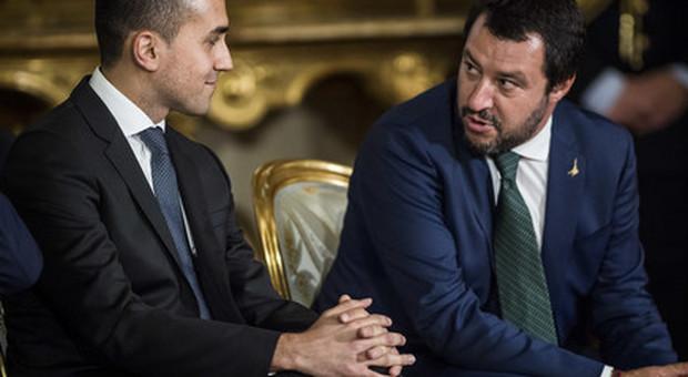 Di Maio e Salvini-2019