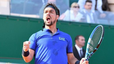 Photo of Fognini 2  Arma Ahahahah
