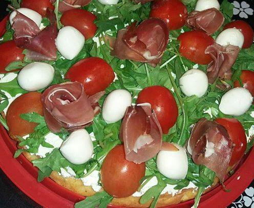 pica - torta salata parmigiano