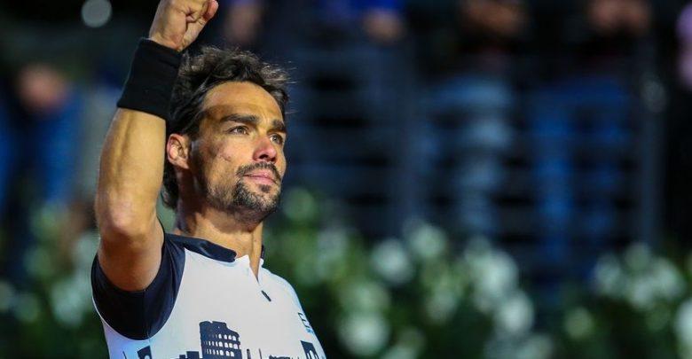 tennis - Fognini - foro italico (foto web)