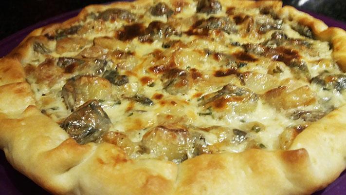 cucina-brisèe con carciofi e patate