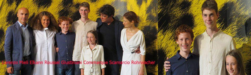 Locarno-red-Lorenzo Mieli Elkann Roussel Giustiniani Commarque Scamarcio Rohrwacher