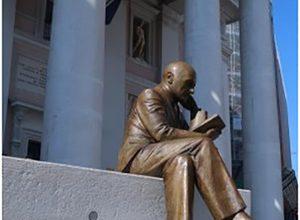 Gabriele D'annunzio - statua