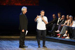Premio maschere -Tullio Solenghi con Davide Enia