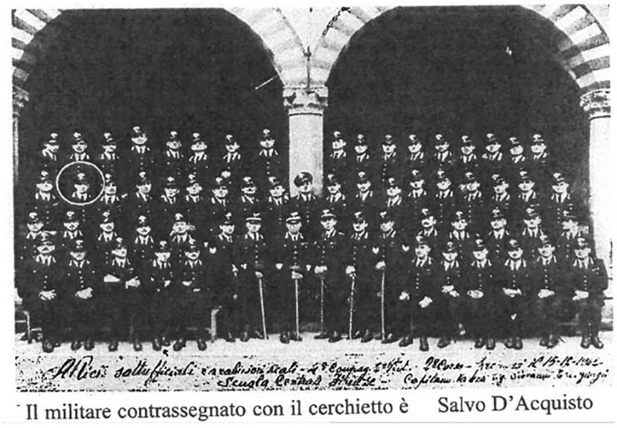 Salvo D'Acquisto- foto A.S. CC Reali Firenze
