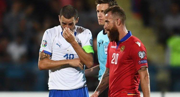 calcio-Karapetyan-Bonucci-Armenia-Italia sett-2019 (foto web)