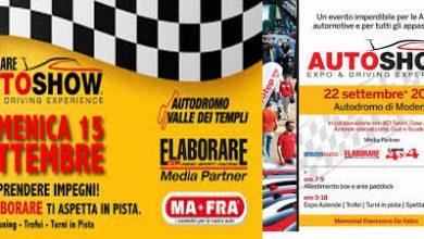 """Photo of Riprende """"Elaborare Day"""" con """"Auto Show"""" organizzati da Giovanni Mancini"""