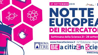 Photo of Notte Europea Dei Ricercatori 2019
