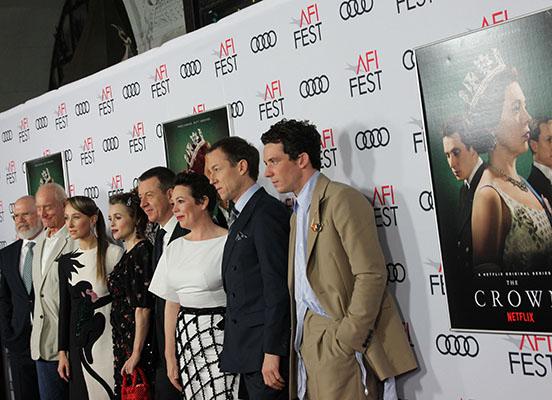 crown-1-cast include il Michael Lunpkin direttore artistico AFI