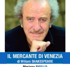 teatro ghione - Mariano Rigillo Il mercante venezia 2019