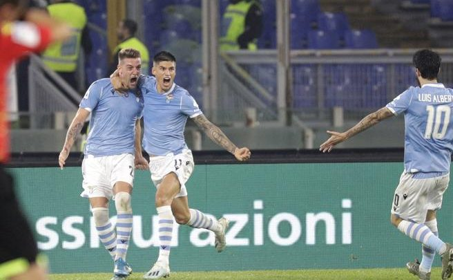 calcio-Lazio-Juve 2019 - (foto web - AP Photo/Gregorio Borgia)