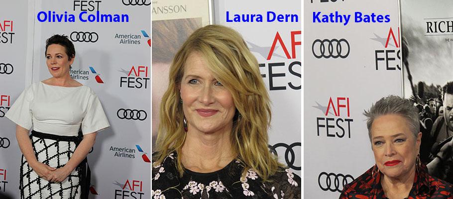 cinema-Kathy Bates-Laura Dern-Olivia Colman