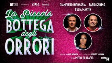 teatro Sala Umberto La piccola bottega degli orrori locandina