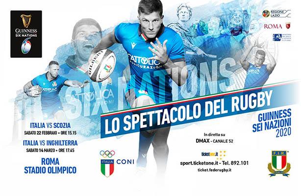 Rugby-6 Nazioni 2000 locandina