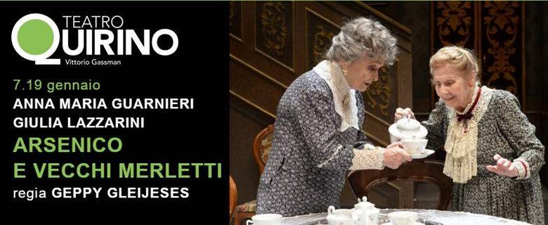 Teatro Quirino-Arsenico e Vecchi Merletti 10.01.2020