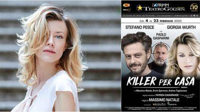 """Photo of Teatro Golden – """"Killer per casa"""" con Giorgia Wurth, Stefano Pesce e Paolo Gasparini. Regia di Massimo Natale"""