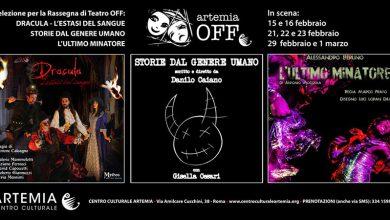 Photo of Artemia Off – 2020: tre spettacoli teatrali sul palco del Centro Culturale Artemia