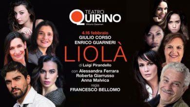 """Photo of Teatro Quirino – Enrico Guarneri e Giulio Corso protagonisti eccellenti di """"Liolà"""""""