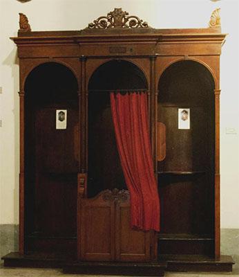 confessionale (foto web)