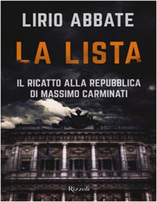 La lista - Il ricatto della Repoubblica Massimo Carminati - copertina