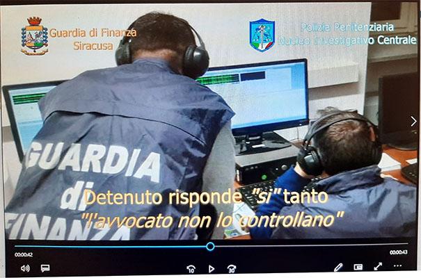 gdf carcere cavadonna 14.05.2020