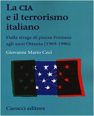 La Cia e terrorismo italiano - copertina