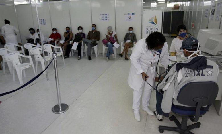 coronavirus-ospedale Brasile (foto web)