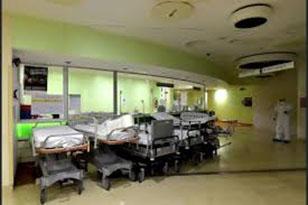 coronavirus reparto vuoto 2020 (foto web)