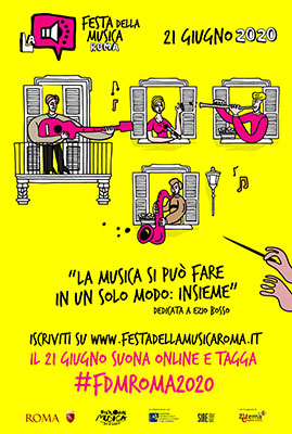festa della musica 2020 - locandina