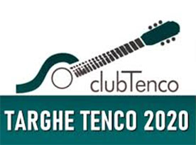 targhe Tenco 2020 -Club Tenco (foto web)