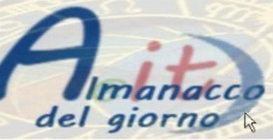 Photo of Almanacco di Mercoledì, 01 Luglio 2020
