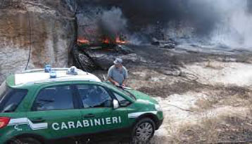 Photo of Incendi boschivi – Arrestato un incendiario salernitano