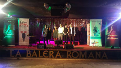 Photo of Balera Romana, da sala da ballo, temporaneamente a locale d'ascolto
