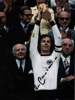 calcio Franz Beckenbauer 1974 (foto web)