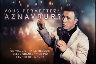 "Photo of Teatro degli Eroi: ""Vous Permettez, Aznavour?"""