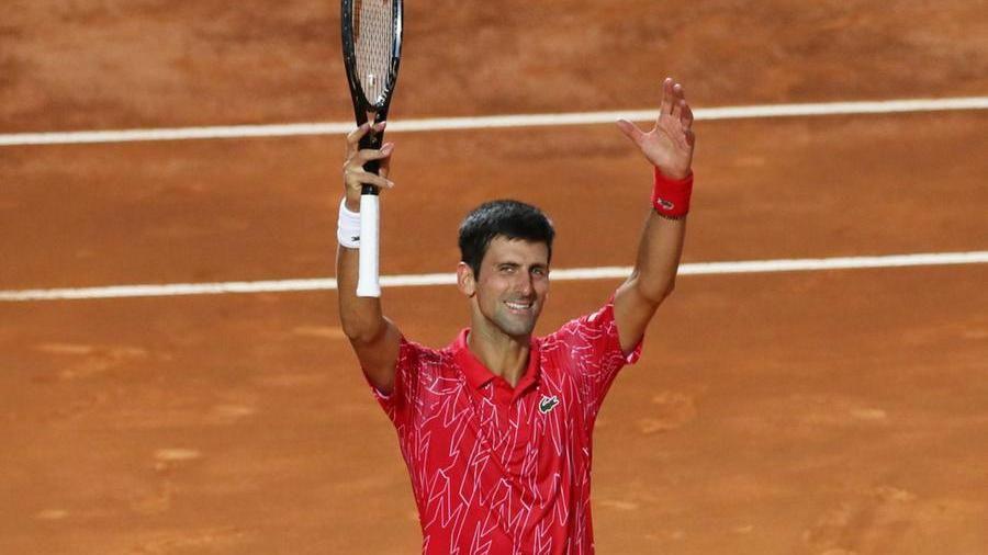 tennis - Djokovic roma 21.09.2020 (foto web)