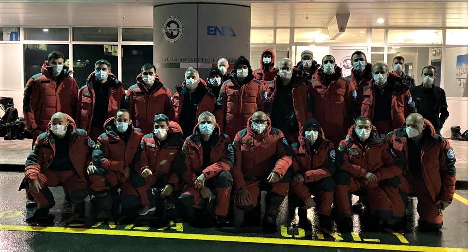 Antartide 2020-21 primo gruppo