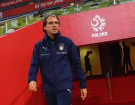 Calcio Mancini Polonia-Italia 11.10.2020 (foto web)