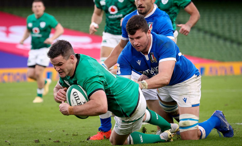 Rugby Irlanda-Italia 2020 (foto web)