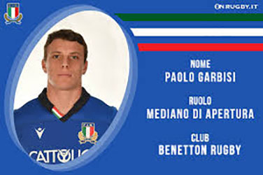 Rugby - Paolo Garbisi (foto web)