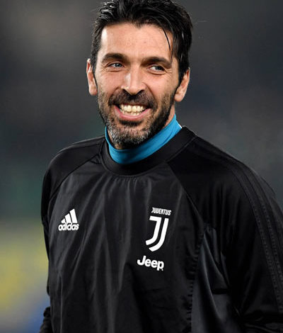 Calcio Buffon juve - 2020